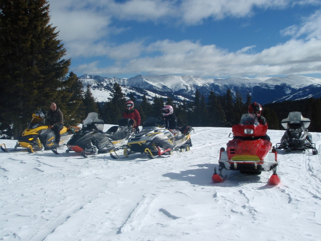 A tale of survival: Snowmobilers in Frey Gulch
