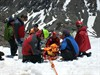 Quandary injured climber evacuation